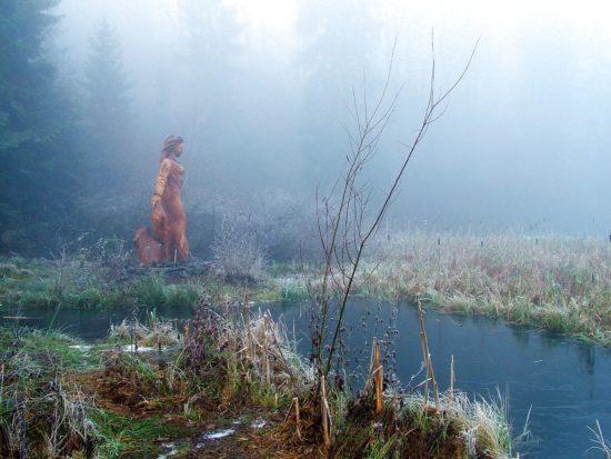 Wie im Märchen – der Frau-Holle-Teich am Hohen Meißner