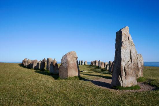 Schiffssetzungen in Skandinavien – steinerne Zeugen der Vergangenheit