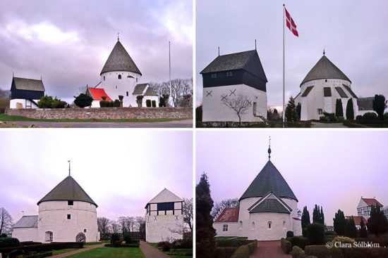 Bornholm – Rundkirchen und Runensteine