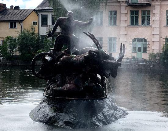 Torshälla – die Stadt des Donnergotts
