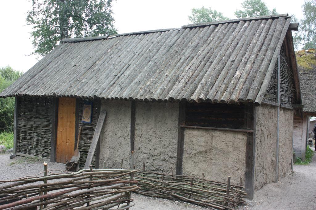 Häuser Birka Schweden