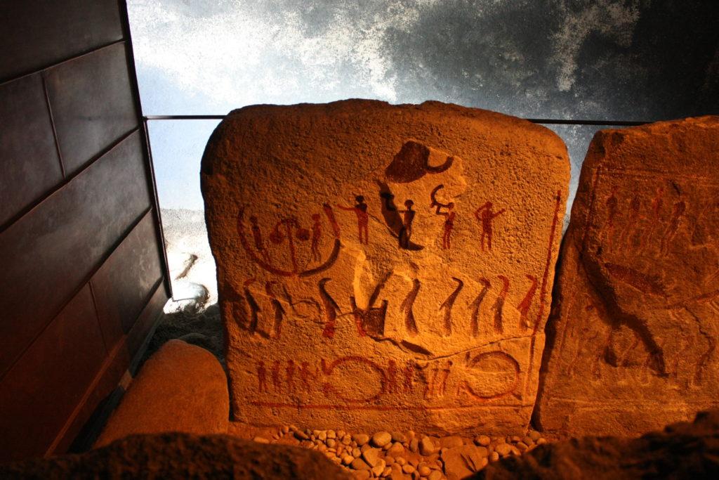 Petroglyphen Grab von Kivik