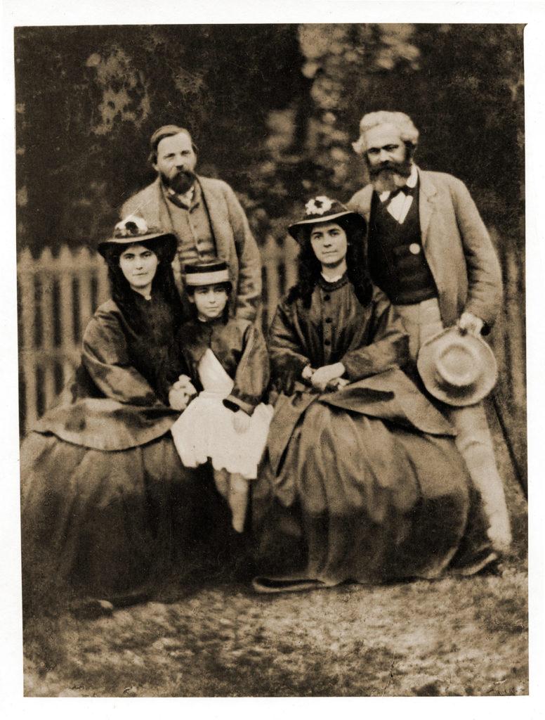 Friedrich Engel, Marx und Frauen