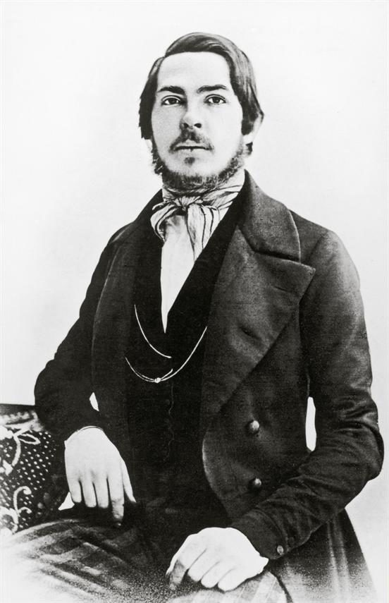 Der junge Friedrich Engels