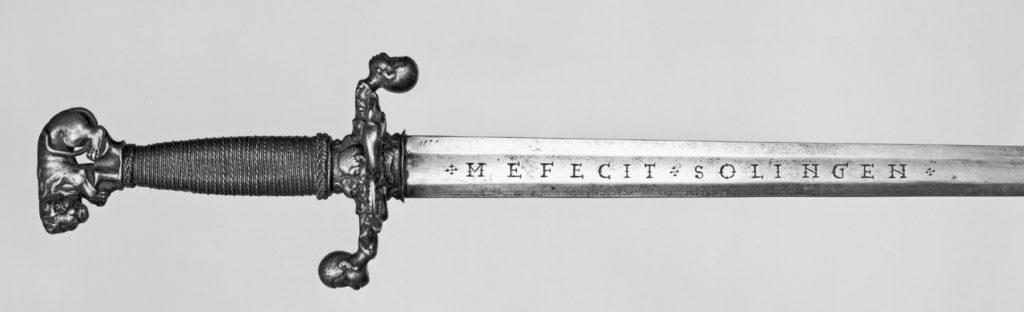 Schwert aus Solingen