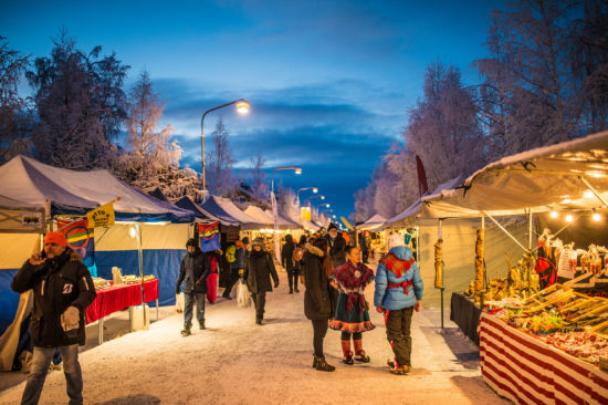 Jokkmokk – samische Kultur am Polarkreis