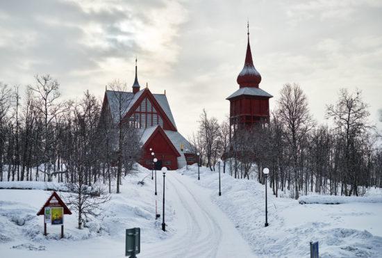 Kiruna – Schwedens nördlichste Stadt