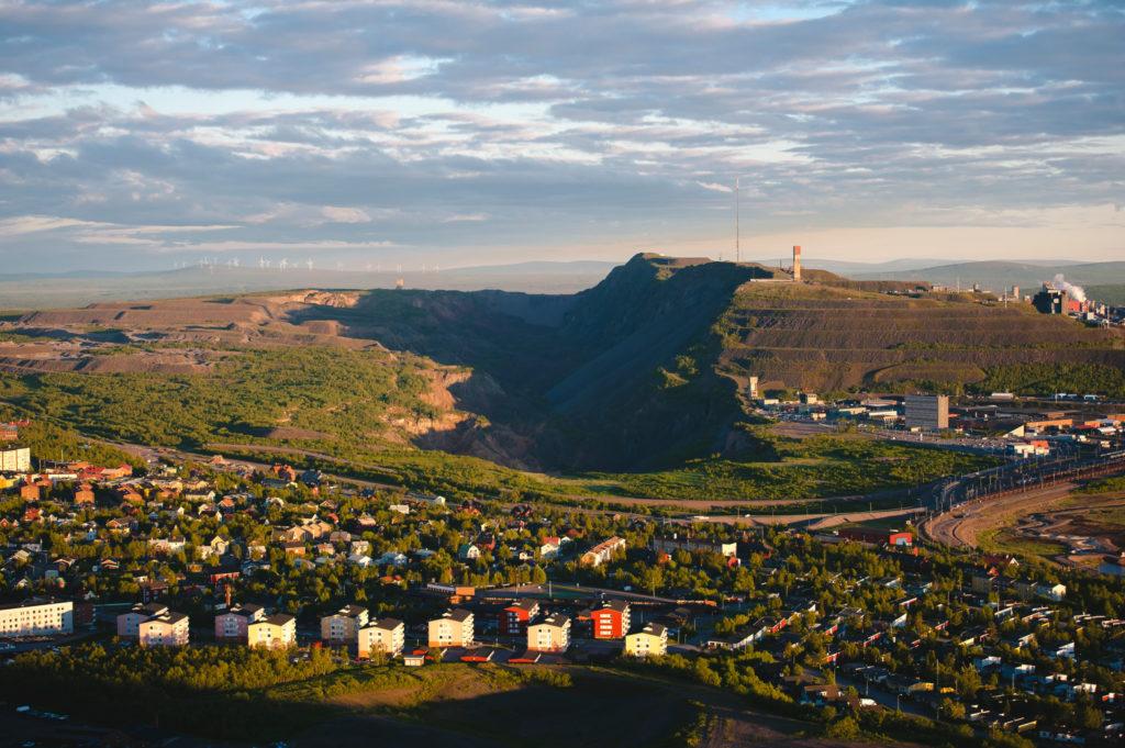 Eisenerzmine in Kiruna
