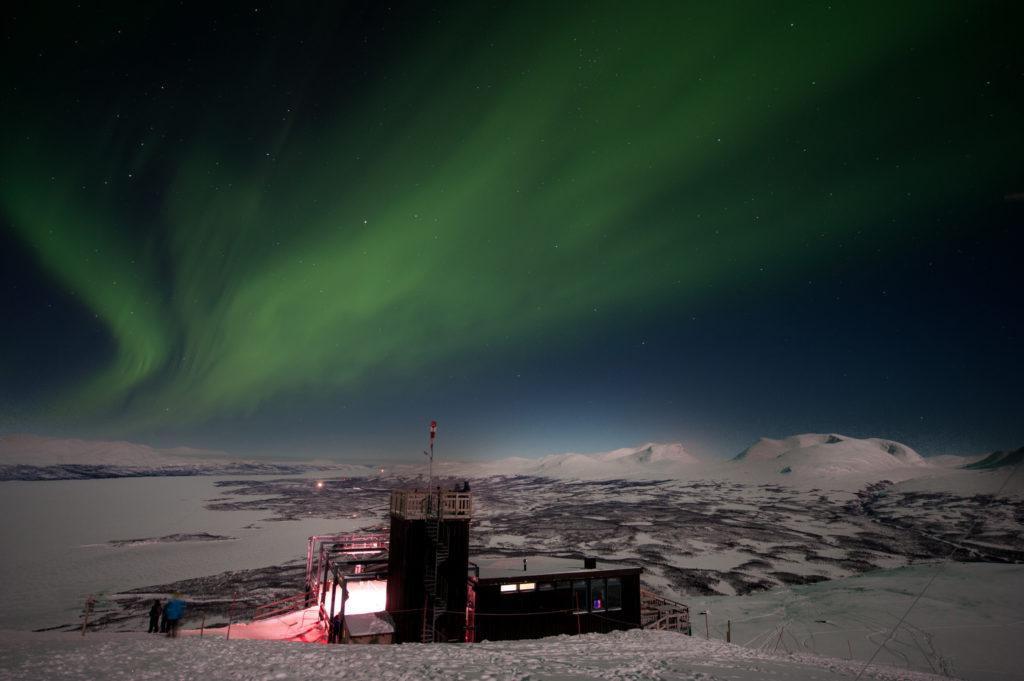 Nordlichter in Abisko Schweden