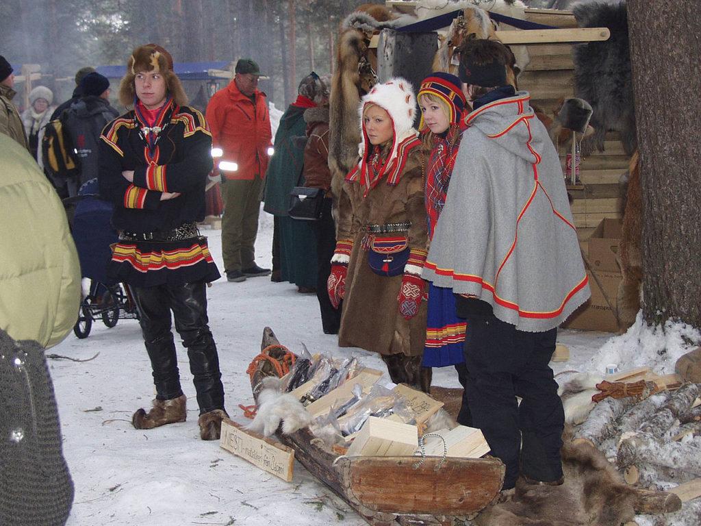 Der Wintermarkt in Jokkmokk