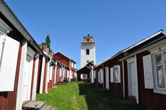 Gammelstad Kirchstadt: Weltkulturerbe in Lappland