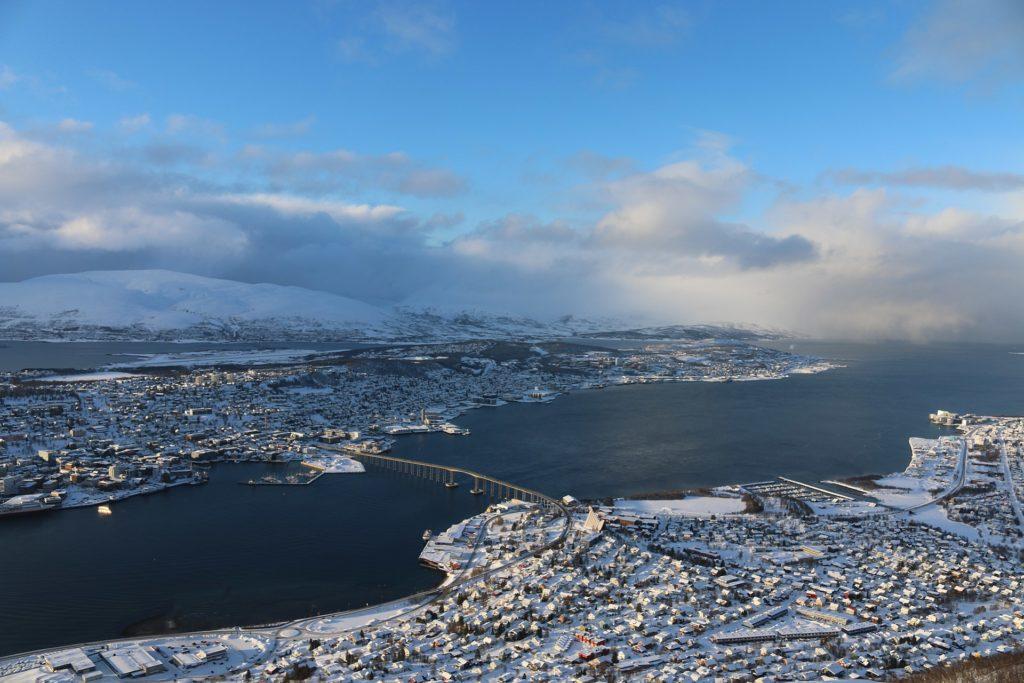 Trömso Stadt der arktischen Universität