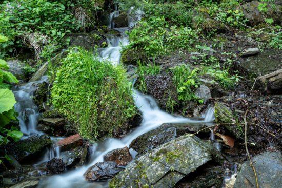 Plästerlegge: der höchste Wasserfall Nordrhein-Westfalens